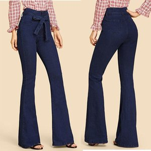 female womans clothes womens trousers personality women designer jeans femme pants pants plus size Women denim Clothes Elastic XP493