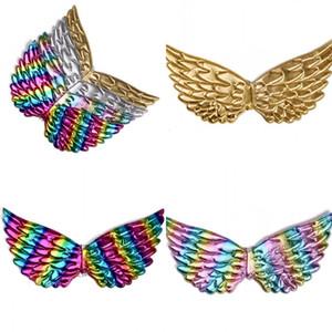 Unicornio Dress Wings Festival Golden Sliver Color Wing Niños Boys Girls Cherub Style Evening Party Decoration 7 2OH L1