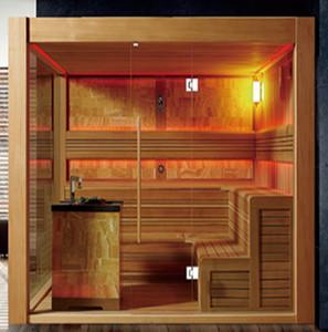 Forêt espace haut de gamme sauna bar oxygène sur mesure chambre confortable saine profiter petite salle de vapeur khan SH332