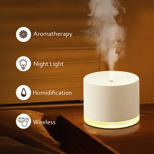 780ml Wireless Air Humidifier 2000mAh Battery Rechargeable Humidificador Aromatherapy Portable Diffuser Air Purifier Mist Maker 1012