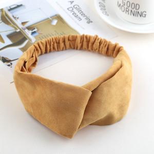 New Knot Bandanas Turban Fandbands Inverno Caldo Knitting Turban Cap Headband Cross Elastic Donne Capelli Band Capelli Sciarpe Capelli Capelli Access