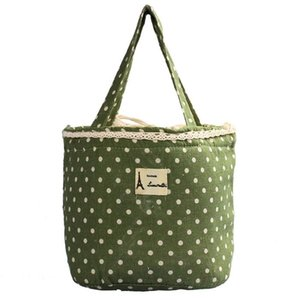 Thermal Insulated Lunch Box Office Cooler Tote Portable Bento Pouch Draw Pocket Home Kitchen Picnic Lunch Container Large