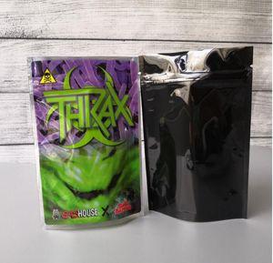 RUNTZ INSANE BAG 3.5g ZOURZ SHARKLATO BURZT THKAX Smell Proof Bags Vape Packaging for Dry Herb Vaporizer with 6kinds mylar bag Edibles Packa