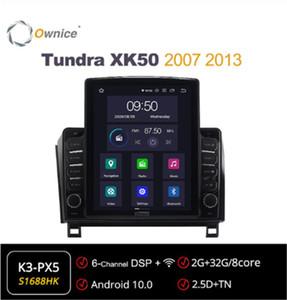 Araba Ses Sesli Android Android 10.0 Multimedya Fortoyota XK50 2007 2013 / Sequoia 2008 - 2021 Otomatik Radyo Video Sistemi Birimi