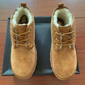 Venta caliente-2020 Hombres Zapato de lana de invierno Plataforma de mujer Botas de nieve Men's Classic Femmes Diseñador Botas correas Cálido Martin