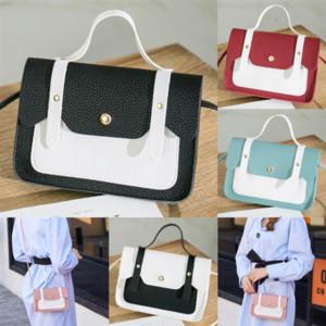 HCDJC Mode Handtaschen Geldbörsen Frauen Lieblingsgurte Cartoon Hohe Qualität 2D Bag PocheteAccessories Crossbody Bag Vintag Umhängetaschen