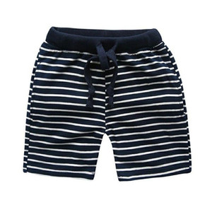 Boys Shorts Black White Striped Summer 2 3 4 7 years Fashion Cotton Kids Boys Beach Shorts Children's Clothing Baby Short Pants