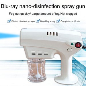 Tragbare Handheld-Blau-Nano-Spritzgeräte-Zerstäuber-Spritzpistole-Epidemie-Desinfektions- und Sterilisation elektrische Dampfreiniger FS9000