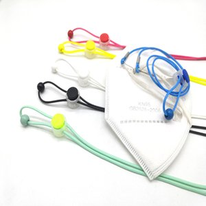 DHL Shipping Adjustable Mask Lanyard Convenient Ear Pressure Relief Extender Face Mask Anti-lost Strap Hanger Around The Neck Kimter-L851FA