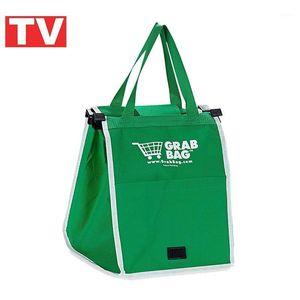 TV Products Grab Bag Сумка супермаркет Supermarket Зеленая защита окружающей среды Green1