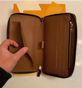 Nuove borse di moda all'ingrosso Linge Spiraea Women Portafoglio donna e fibbia Donna lunga portafoglio portafoglio in pelle con grande capacità 78UY-0