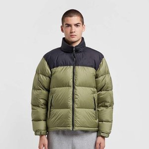 2021 Neue Winter Herren Daunenjacke Mode Trendjacke Baumwolle-gepolsterte Jacke Paar dicke warme Männer und Frauen kurz JK081