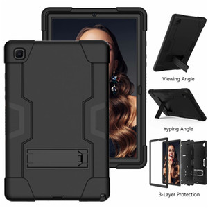 Military Extreme Heavy Duty silicone pc shockproof case for ipad 10.9 pro 11 10.5 9.7 air mini 45 samsung 10.4 T500 10.1 T510 T387 T290 T307