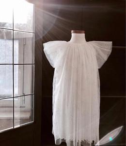 satış öncesi ZMHYAOKE 2020 Yaz Çocuk Giyim Şükran Kız Noel Elbise Bebek Kız Prenses Giydirme Kız Elbise 5I1W #