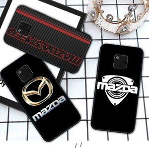 Sports Car Mazda mobile phone cover case for Huawei mate lite 9 10 20 30 pro 20X coque