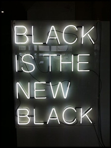 Neon Sign For Black is black real Glass Tubes Commercial Home LADY Lamp resterant light advertise custom DESIGN Handmade light