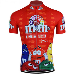 2020 Men M &M &#039 ;S Cycling Jerseys Cool Classic Style Men Bike Wear Short Sleeve Cycling Clothing Mtb Ropa Ciclismo Outdoor Bicycle Cl