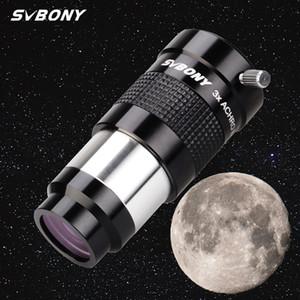 "Svbony 1.25 ""Telescópio EyePiece Barlow Lens Totalmente Multi-revestido Metal Advanced Acromatic Profromatic Profomatic Telescope LJ201120"
