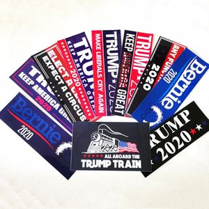 Donald Trump 2020 Car Sticker America President Election Sticker Fashion Exquisite Stickers Home Garden Waterproof Stickers DHE2618