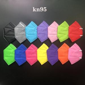 5 plys 입 마스크 빠른 배송 방진 KN95 마스크 FFP2 mascarilla 보호 높은 품질 일회용 성인 얼굴 마스크 제조 업체