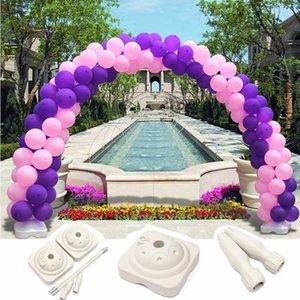 Воздушный шар Arch Stand Base Cost Kit Clip Conceptor Balloons Воздушные шары Аксессуары Свадебные Партии Отделочные декорации Партия Партия поставки Q1122