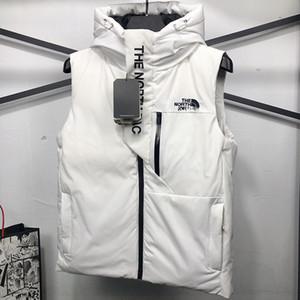 2020 Primera marca abajo conceden invierno de las mujeres de los hombres de chaleco con capucha clásicas chaquetas de plumas para mujer Weskit capa chalecos casuales M-3XL