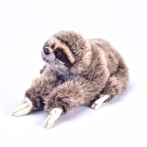 New 1pc 35cm Lifelike Sloth Baby Doll Sloth Plush Toys Stuffed Dolls Kids Toys Lovely Doll Girlfriend Best Gifts Brinquedos