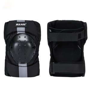 2pcs set Knee Sleeve Pad Breathable Adjustable EVA PE Shell Leg Protective Guard Protector Outdoor Cycling Roller Skating