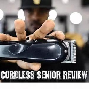 NEW Senior black Men's Electric hair clippers Cordless Adult Razors Professional Local barber hair trimmer Corner Razor Hairdresse