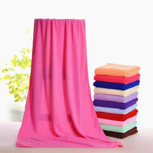 Microfiber Bath Towels Beach Drying Bath Washcloth Shower Towel Swimwear Travel Camping Towels Shower Cleaning Towels 70x140cm CCE2101