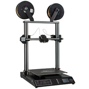 Printers GEEETECH A30M 2 In 1 Mixed 3D Printer 320*320*410mm Area 60mm s Password Protected Touch Screen Double Z-Axis