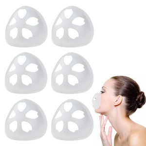 3D Mask Bracket Lipstick Protection Silicone Stand Face Mask Inner Enhancing Breathing Smoothly Cool Mask Holder Reusable Accessory top sale