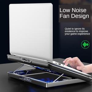 Portable Gaming Laptop Cooler USB Deux 17 pouces de grande taille Laptop Cooling Pads Vitesse / Hauteur support réglable pour ordinateur portable