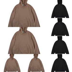 9rztD Nagri na moda cor sólida Terry divisão hip hop oversize oversize moda cor sólida dos homens camisola Terry dividir Nagri hip hop camisola dos homens