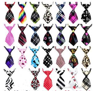 Cravate pour chien de compagnie réglable Cravate de chien Cravate Chat Belle Adorable Toiking Soie Cravate Cravates Pet Cravates 200 pcs