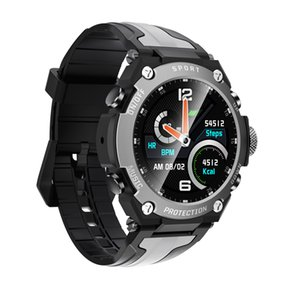 DK10 Smart Sports Bluetooth Proofing IP68 Altitude Fitness Watch Smart Watch Diving Rate Heart Music Waterproof Weather Three Com Flrqv