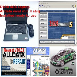 2020 Hot Auto Repair Soft-ware Alldata Mit..ell 2015 vivid workshop 10.2 atsg in1 1TB HDD installed well in laptop D630 4g