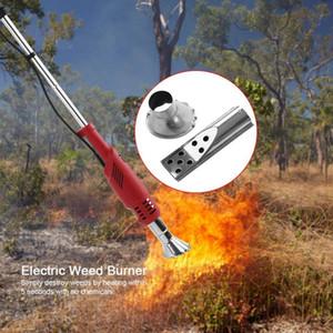 Electric Weeder Trimmer Retractable Bracket Electric Grass Burner Household Multi-function Tool Hot Air Gun Garden Tool
