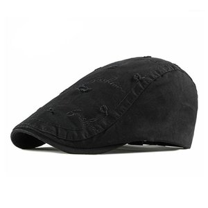 Men's Casual Hat Berets Cotton Caps for Spring Summer Autumn1