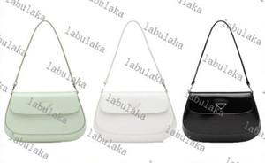 Cleo Crossbody Bag Borsa a tracolla in pelle lucida Borse a tracolla Borse a tracolla per le donne Borse classiche Zipper moda Crescent Bag 4 Color