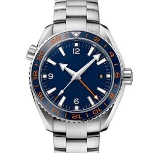 Fashion men Mens diamond Mechanical Watch Stainless Steel Automatic Movement designer james bond 007 Sports 600M Watches Wristwatches