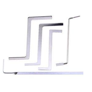 5 adet / grup Çok İşlevli Çilingir Araçları Metal Sıra Gerginlik Çubuk / Düğme Tüpleri Gerilim Anahtarı Çilingir Kaynağı için