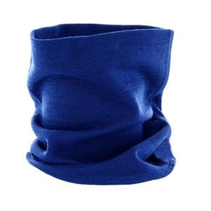 2020 Fall Winter Unisex Merino Wool Neck Gaiter Men & Women Ring Wool Scarf Warm Soft Thermal Odor Resistance Moisture One Size LJ201006