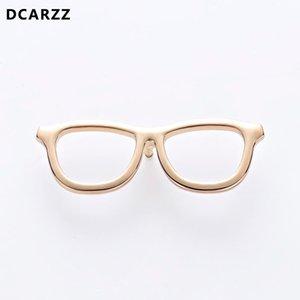 Black Geek Gafas Pin Pin Spectacles Tie Pins Accesorio Atención médica Conciencia de las enfermedades del ojo Joyería Médica al por mayor 201009