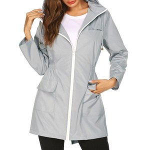 High Quality Waterproof Jacket for Women Hiking Clothes Female Lightweight Outdoor Clothes Pockets Zipper Jacket New