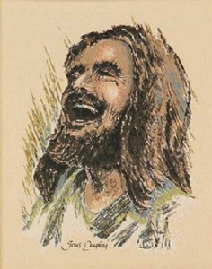 27 Framed &Unframed JESUS LAUGHING Home Decor Handcraft &HD Print Jesus Christ Smiling Oil Painting On Canvas Wall Art Canvas Pictures 20110