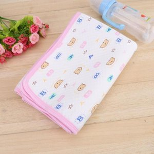 Baby Waterproof Baby Cotton Urine Mat Diaper Nappy Bedding Changing Cover Pad Foldable Washable Nappy Pad Chaging Mat