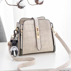 Камень узор милый медведь кулон плечевые сумки мешок крокодил дизайнер ведро скрещивание сумка леди маленькие кошельки и сумки C1223