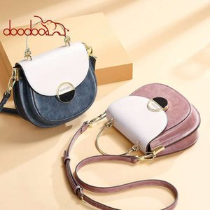 Frauen Tasche Luxus Hohe Qualität Koreanische Mode Satteltasche Damen Elegante Kontrastfarbe Wilde Schulter Diagonale Kupplung Tasche Geschenk Großhandel 9599