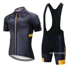 New Arrival Fashion Pro Team Nw Cycling Jerseys Set Bicycle Uniform Short Sleeves Summer Men &#039 ;S Cycling Outfits Road Bike Sportswear
